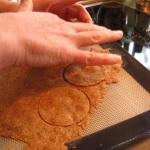 découpe du biscuit à chaud