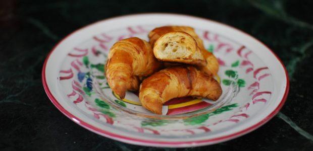 Croissants au beurre d'après Christophe Felder