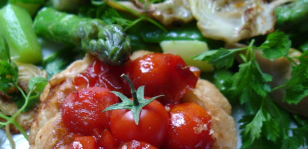 Tartelettes de tomates cerises