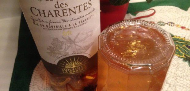 Gelée de pommes au Pineau des Charentes
